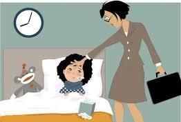 Le congé enfants malades