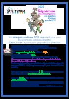 NAO 2020 : REVENDICATIONS CFTC