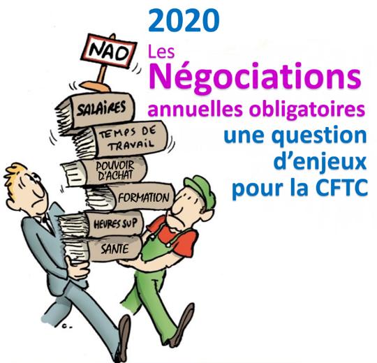 Les Négociations Annuelles Obligatoires 2020 : une question d'enjeux pour la CFTC